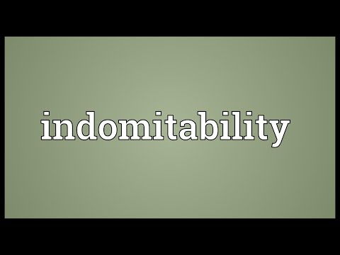 Header of indomitability