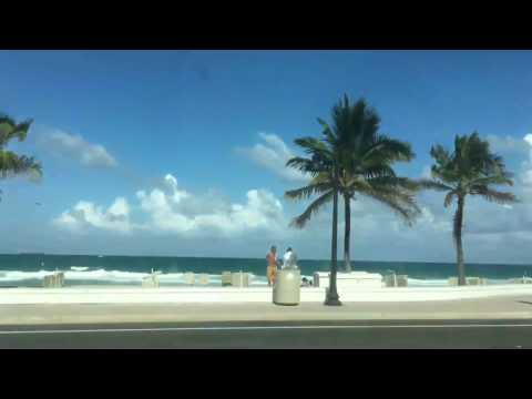 🔴 ЛУЧШЕЕ МЕСТО ДЛЯ ЖИЗНИ В США 🔴 ФЛОРИДА Fort Lauderdale Hollywood Miami 05/30.2017