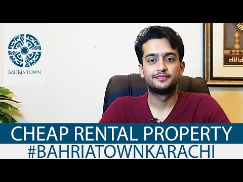 Rental Guide - Bahria Town Karachi | AJ Associates