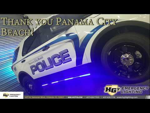 HG2 Emergency Lighting | Panama City Beach PD Fleet With HG2 Lighting Package