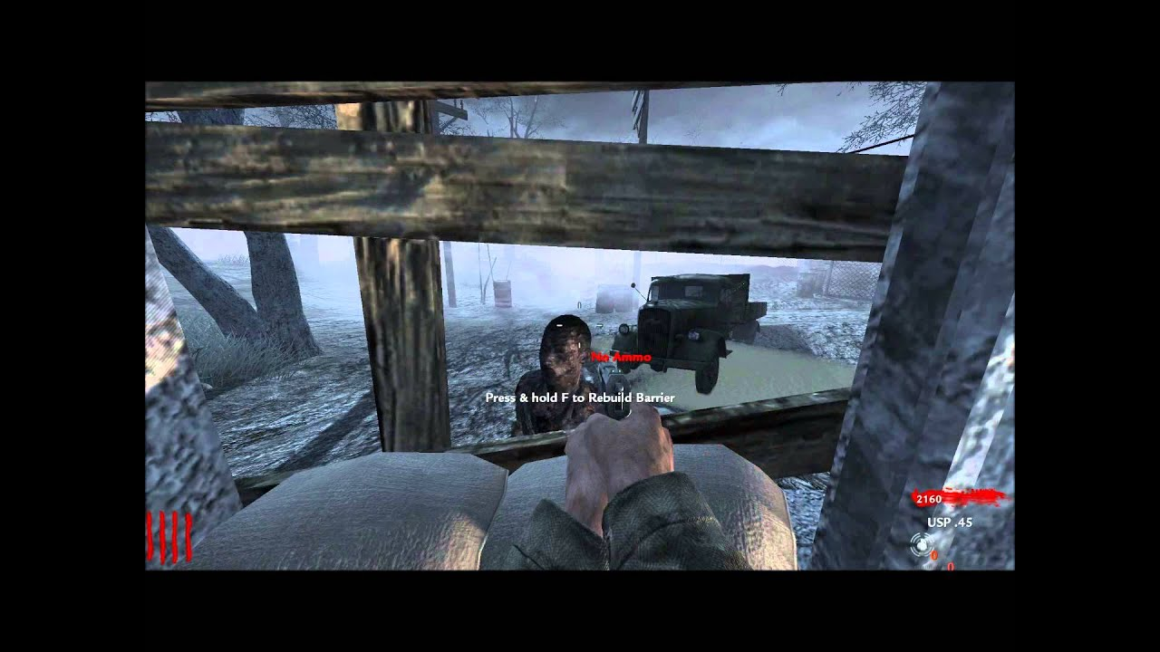 Call Of Duty World At War Nazi Zombies Modern Weapons