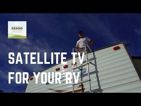 Grand Adventure Ep. 18: Simple Satellite TV for Your RV