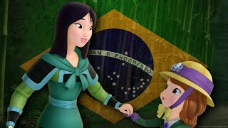 Sofia the Firts ft Mulan | Stronger Than You Know (Brazilian Portuguese)