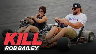 Rob and Dana Linn Bailey Wrestle Their Goats and Hit The Drift Track | Kill Rob Bailey