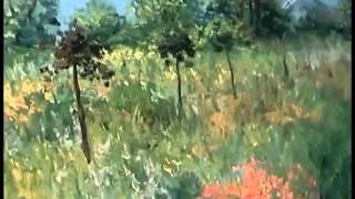 Новый Боб Росс. Игорь сахаров. Лес, цветы. Масло Холст