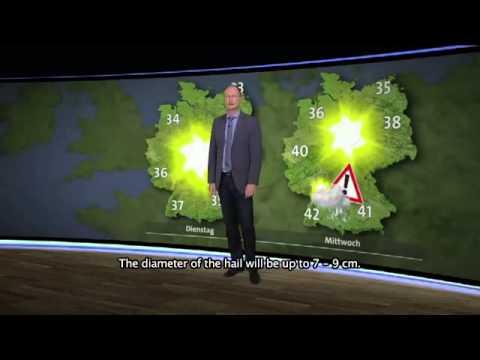 Wettervorhersage für Deutschland 2050 - Sven Plöger 's Wertterquatsch