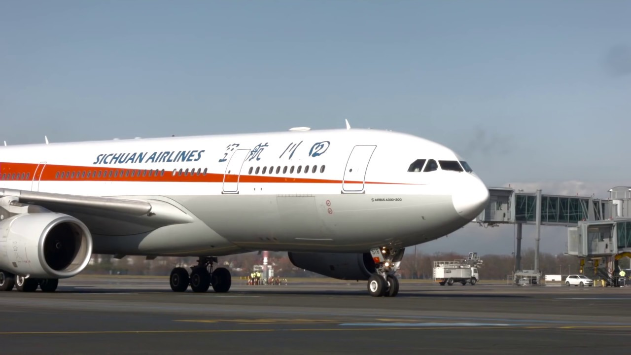 Magazín Terminál – Sichuan Airlines na Letišti Václava Havla Praha
