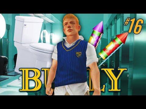 FIRECRACKER IN THE TOILET!! | Bully PS4 Walkthrough Part 16 (Canis Canem Edit #16)
