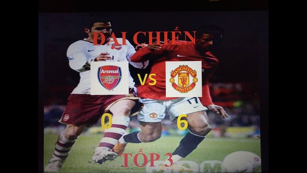 Trực tiếp bong đá Mu vs Arsenal. Công phá tốp 3