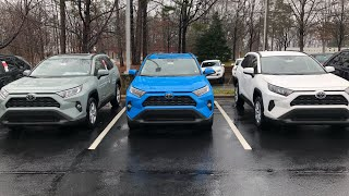 All 9 Color Choices for 2019 RAV4: What are your favorites?