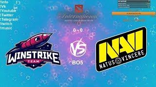 🔴 [RU] Winstrike Team VS Natus Vincere - The International 2019: CIS Qualifier Playoff BO5 Final