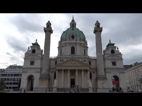 Vienna, Austria - Karlskirche (St. Charles's Church) HD (2013)