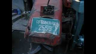 Vitla traktorska 14. Ursuz C 355,  Selo Vrbovac kod Boljevca.AVI