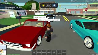 Roblox Gameplay | Ultimate Driving Westover Islands Roleplay