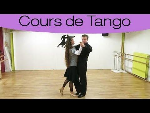 cours de danse les pas de base du tango youtube. Black Bedroom Furniture Sets. Home Design Ideas