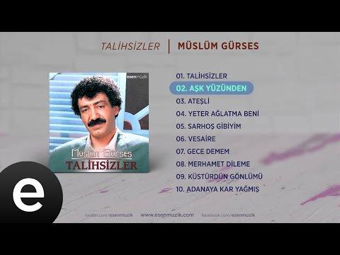 Aşk Yüzünden (Müslüm Gürses) Official Audio #aşkyüzünden #müslümgürses