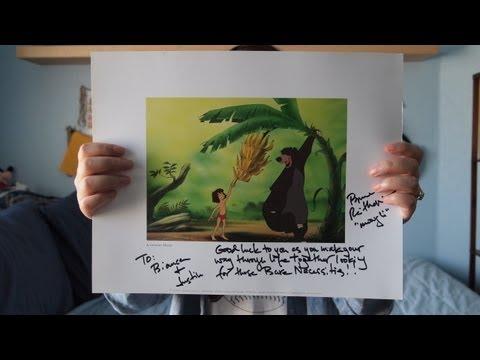 Bruce Reitherman Autograph Fanmail TTM Success (The Jungle Book)