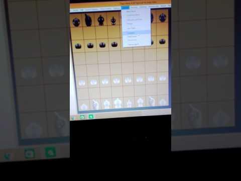 วิธีใช้งานโปรแกรม Thai chess.