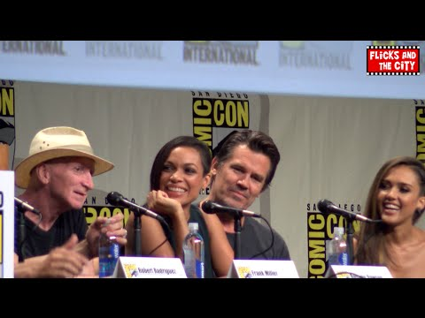 Sin City 2: A Dame To Kill For Comic Con Panel - Jessica Alba, Josh Brolin, Rosario Dawson