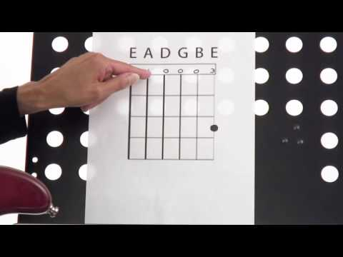 How to Read a Guitar Chord Chart - Beginner Guitar Lesson - Susan
