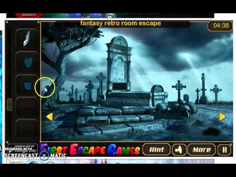 Scary Cemetery Escape Walkthrough Youtube