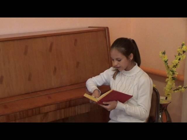 Изображение предпросмотра прочтения – АнгелинаЧеховская читает произведение «Апрель» В.Я.Брюсова