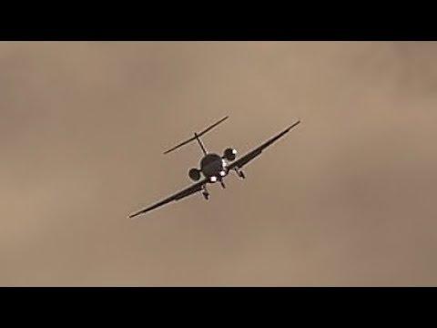 ROLLER COASTER LANDING in Heavy CROSSWIND at Leeds Bradford Airport!