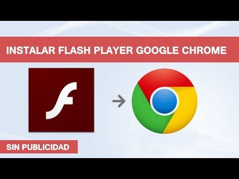 Instalar o Actualizar Adobe Flash Player en Google Chrome (SIN ERROR)
