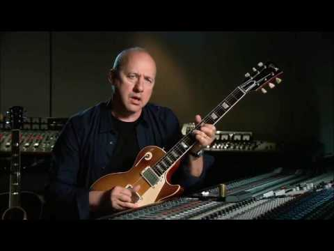 Mark Knopfler on guitar
