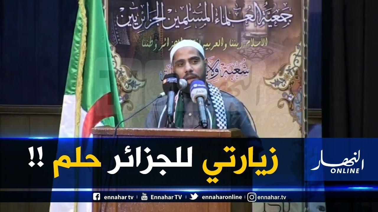محمود الحسنات متأثّرا  ..
