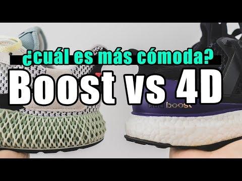 Adidas BOOST VS 4D Batalla EPICA por el TENIS MÁS COMODO