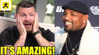 Michael Bisping reacts to good old buddy Yoel Romero getting $27Million after lawsuit,Cyborg