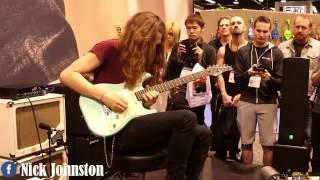 "Video Nick Johnston ""Yngwie Malmsteen"" Style / Guitar Solo Live Show  2017 download MP3, 3GP, MP4, WEBM, AVI, FLV Oktober 2018"