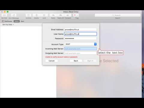 How to Configure Zimbra in OSX Mail - YouTube