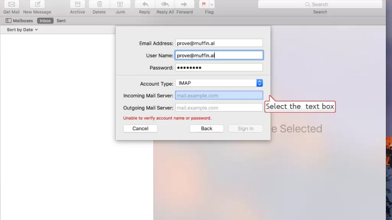 How to Configure Zimbra in OSX Mail