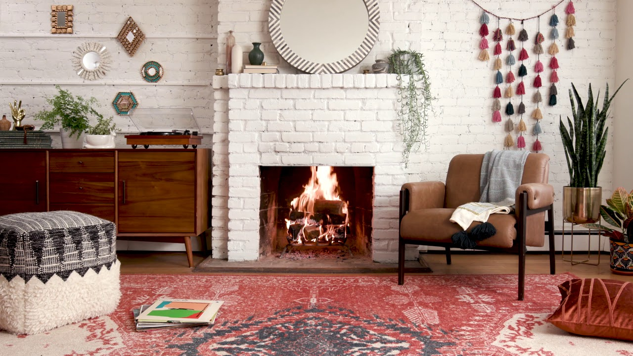 Boho Fireplace Youtube