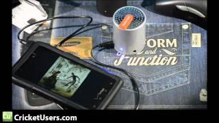 CricketUsers.com - Muse Mini Bluetooth Wireless Speaker