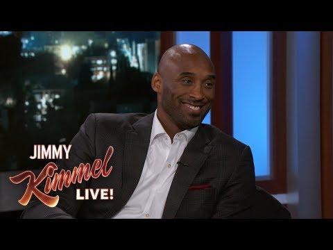 Jimmy Kimmel Thinks Kobe Bryant is a Lunatic