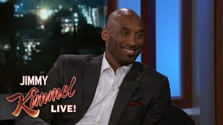 Jimmy Kimmel Thinks Kobe Bryant is a Lunatic