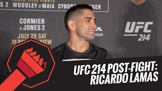 UFC 214 Post-Fight: Ricardo Lamas