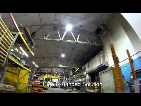 Metal Building Insulation Retro-fit