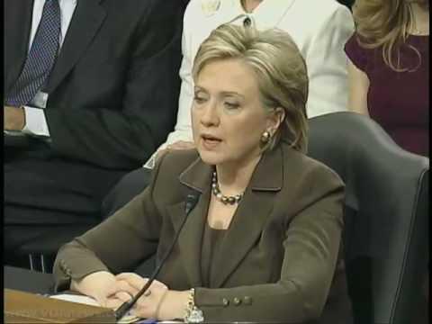 "Hilary Clinton Advocates ""Smart Power"""