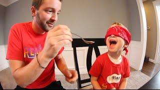 4 Year Old WEIRD FOOD Test!