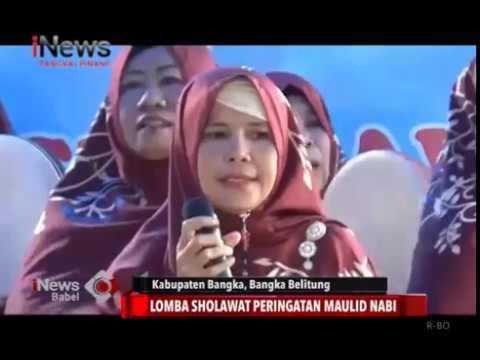 Lomba Sholawat Peringatan Maulid Nabi