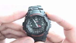 Casio G Shock Men's Wristwatch G-100 Review 2018