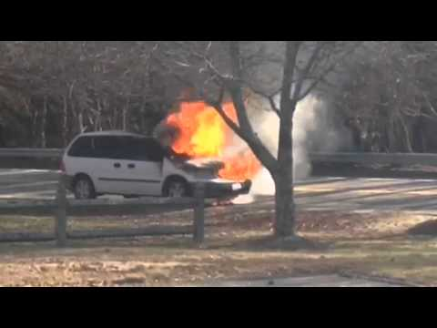 Vehicle fire in East Falmouth