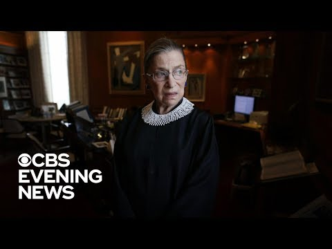 Justice Ruth Bader Ginsburg hospitalized after fracturing 3 ribs