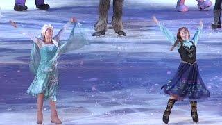 「アナと雪の女王」が初登場!アイスショー「ディズニー・オン・アイス2015」東京公演 #Frozen #Disney on Ice