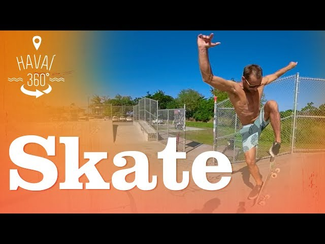 Um rolé 360º de skate, em Banzai Skatepark, no North Shore | Havaí 360° | Canal OFF