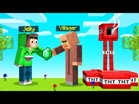 VILLAGERS SELL *OP* BASES In MINECRAFT…